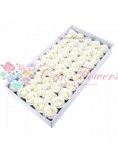 Trandafiri sapun parfumati Alb