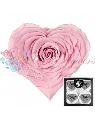 Trandafiri Criogenati Inima Roz CBellaPin04