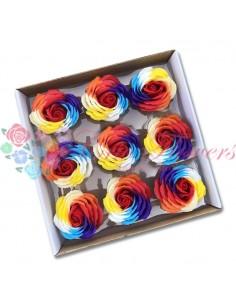 Trandafiri Sapun Multicolor Rosu