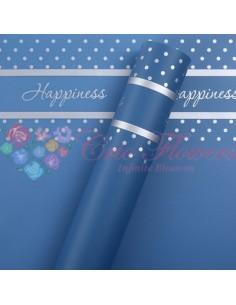 Celofan Happiness Albastru
