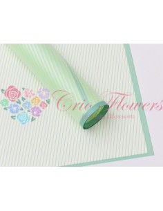 Celofan Transparent Dungi Verde