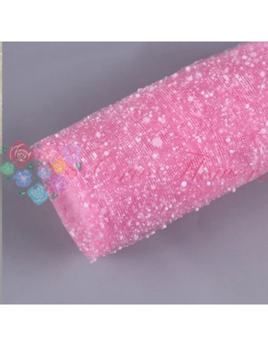 Pink Snow Lace Roll
