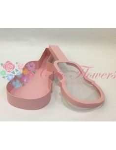 Pink Violin Box