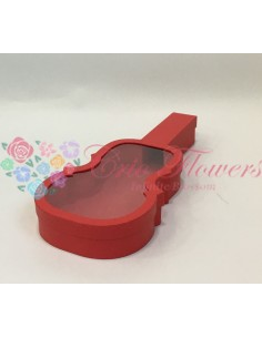 Red Violin Box