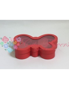 Cutie Fluture Rosu