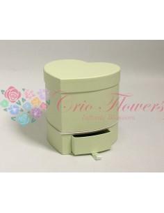 Green Drawer Heart Box