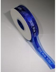 Panglica JustForYou Albastru