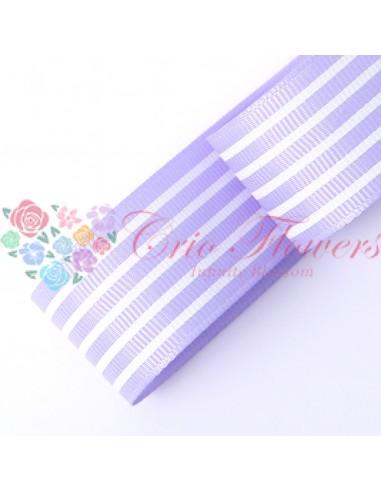 Lila Stripes Ribbon