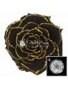 Trandafir Criogenat Negru Sclipici Auriu BonitaGBla01