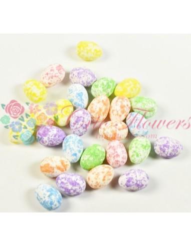 Ouă Multicolor Aquarel Polistiren