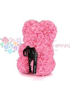 Rose Bear Pink 25cm