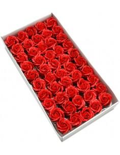 Trandafiri sapun parfumat rosu