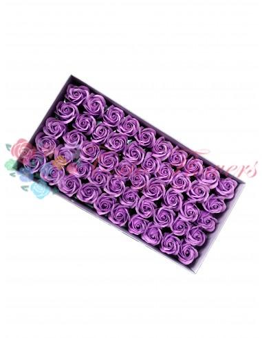 Trandafiri sapun parfumat lila