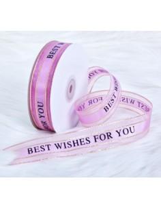 Pink Organza Ribbon