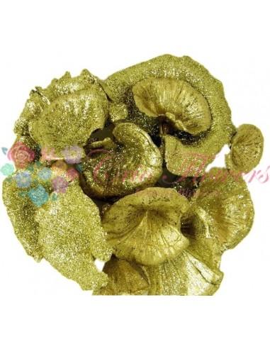 Ciuperci Decorative Auriu