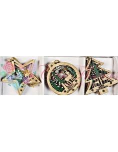 Ornamente Brad Lemn