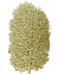 Frunza Coral Artificiala Auriu