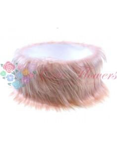 Cutie Blanita Lunga Artificiala Roz