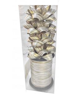 Set Impachetat Cadouri Argintiu Auriu